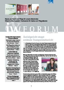 IW-Forum Ausgabe 01/2010