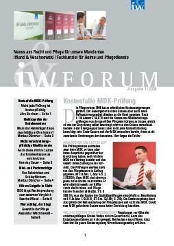 IW-Forum Ausgabe 01/2009