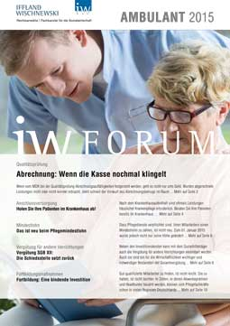 IW-Forum Ambulante Pflege 1-2015